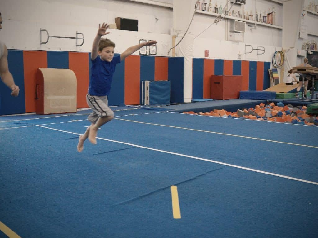 boys advanced class gymnastics unlimited wilmington nc