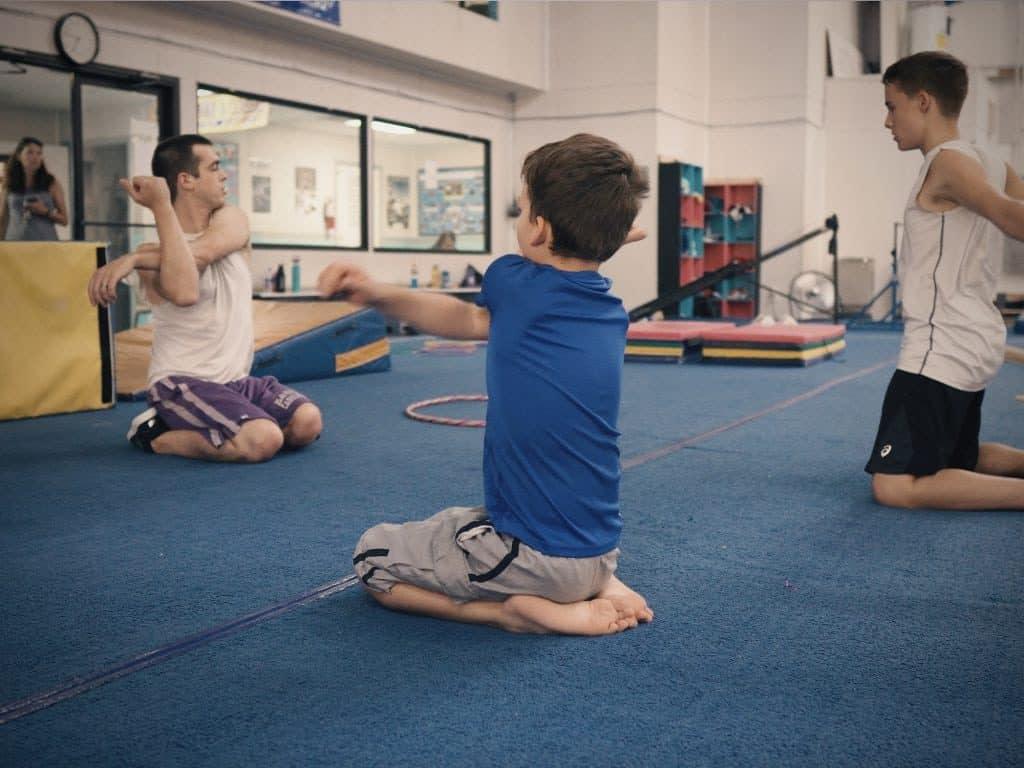 boys beginner class gymnastics unlimited wilmington nc