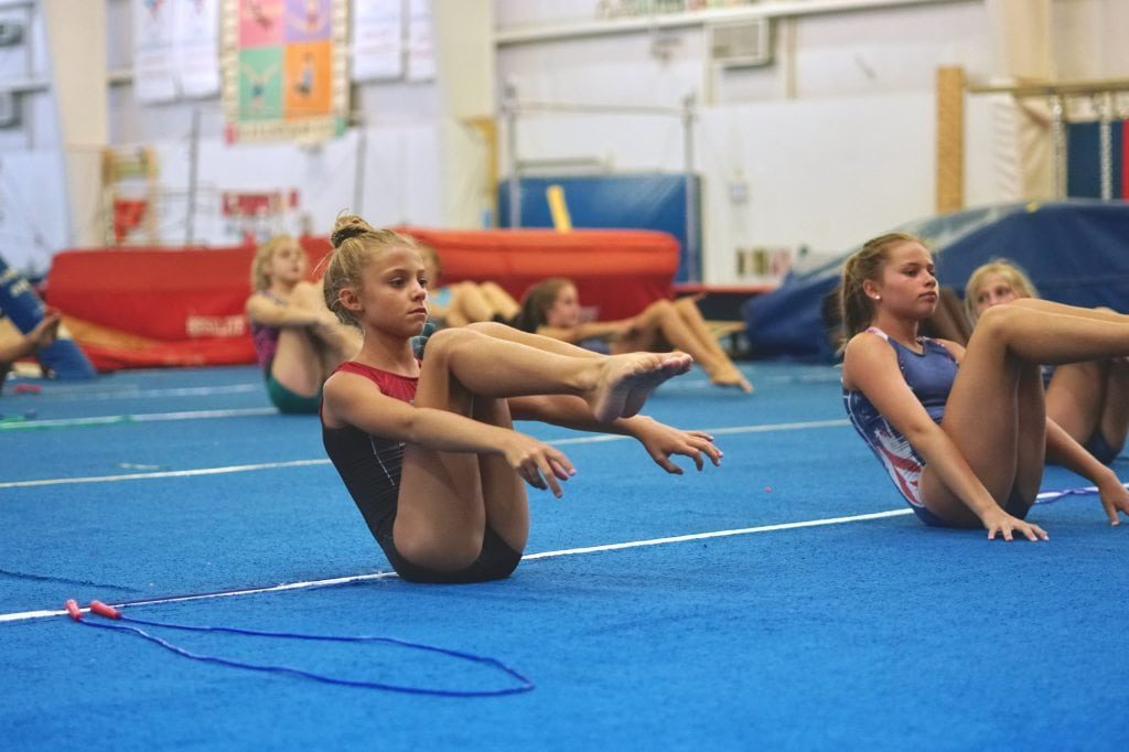 gymnastics unlimited girls levels wilmington nc