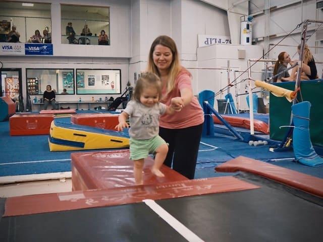 gymnastics unlimited parent and tot